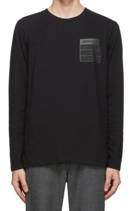 Maison Margiela Long Sleeve Long Sleeves Cotton Long Sleeve T-shirt Logo Designers 2