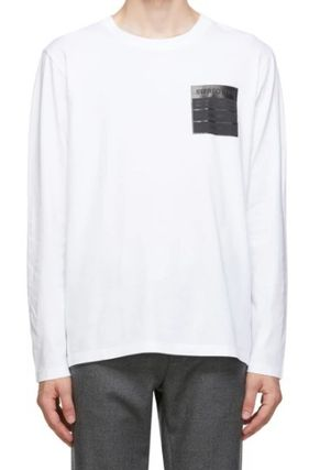 Maison Margiela Long Sleeve Long Sleeves Cotton Long Sleeve T-shirt Logo Designers 5
