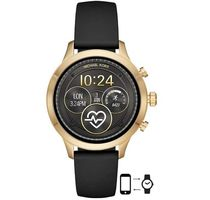 Michael Kors Unisex Silicon Round Digital Watches