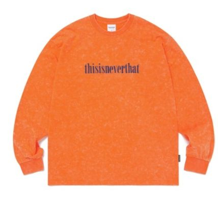 thisisneverthat Long Sleeve Unisex Street Style Long Sleeves Cotton Long Sleeve T-shirt 5