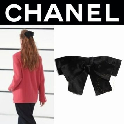 CHANEL ICON Barettes Casual Style Party Style Elegant Style