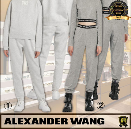 Alexander Wang Casual Style Corduroy Sweat Street Style Plain Logo
