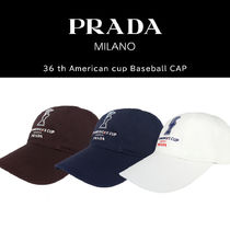 PRADA Unisex Collaboration Caps