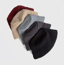 Raucohouse Street Style Bucket Hats Wide-brimmed Hats
