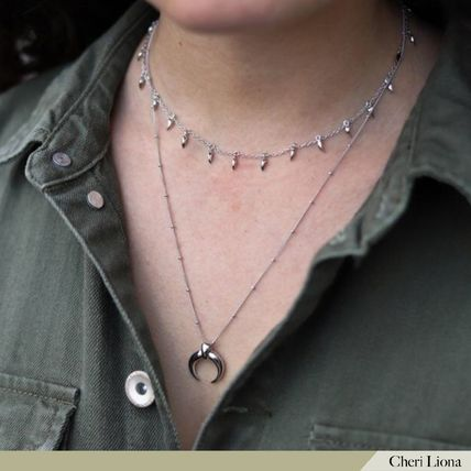 Costume Jewelry Casual Style Party Style Silver Office Style