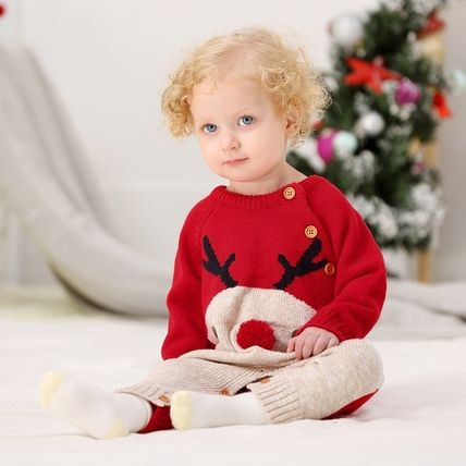 PatPat Holiday Themed Baby Girl Dresses & Rompers