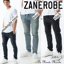 ZANEROBE Tapered Pants Blended Fabrics Street Style Plain Cotton Logo