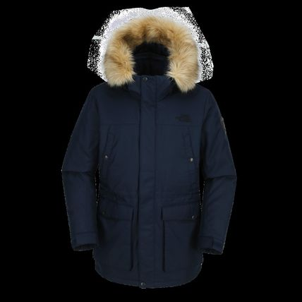 THE NORTH FACE MCMURDO NORTH FACE M'S MCMURDO LT Street Style Logo Down Jackets