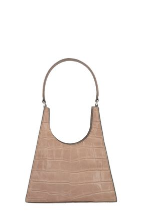 Casual Style Calfskin Elegant Style Shoulder Bags