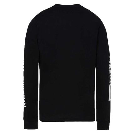 Street Style Long Sleeves Cotton Long Sleeve T-shirt Logo