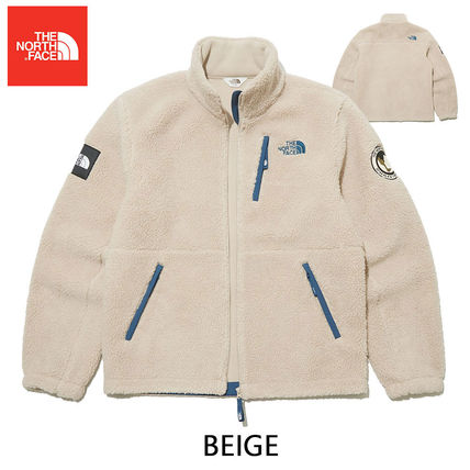 THE NORTH FACE RIMO Unisex Street Style Logo Outerwear
