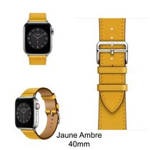 HERMES Leather Apple Watch Belt Watches