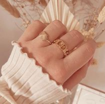 Christian Dior Chain Party Style Elegant Style Rings