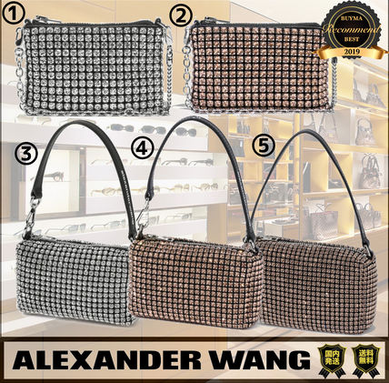 Alexander Wang Chain Party Style Elegant Style Crossbody Bridal Party Bags