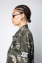 ZADIG & VOLTAIRE Parkas Camouflage Casual Style Street Style Parkas 5