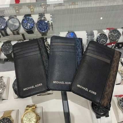 Michael Kors Leather PVC Clothing Coin Cases