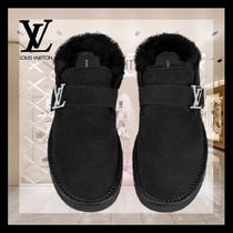 Louis Vuitton Street Style Logo Loafers & Slip-ons
