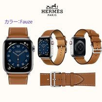 HERMES Casual Style Leather Party Style Office Style Elegant Style