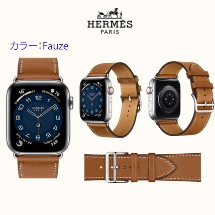 HERMES Street Style Apple Watch Belt Watches Watches