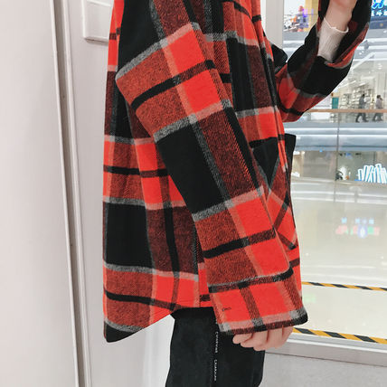 Shirts Tartan Other Plaid Patterns Long Sleeves Front Button Shirts 18