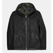 Coach Street Style Leather Coach Jackets Coach Jackets