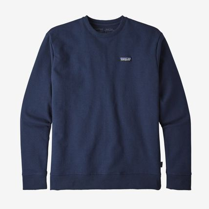 Patagonia Crew Neck Pullovers Sweat Street Style Long Sleeves Plain