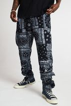 JADED LONDON Printed Pants Paisley Street Style Cotton Patterned Pants