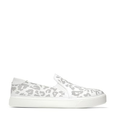Leopard Patterns Rubber Sole Casual Style Leather