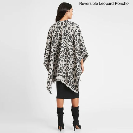 Leopard Patterns Ponchos & Capes
