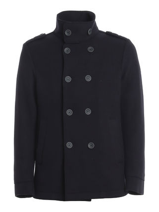 HERNO Wool Peacoats Coats