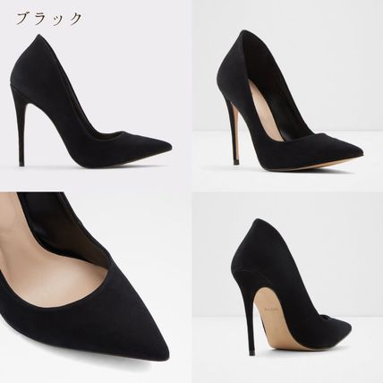 ALDO Casual Style Suede Plain Block Heels Party Style