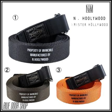 Plain Logo Belts