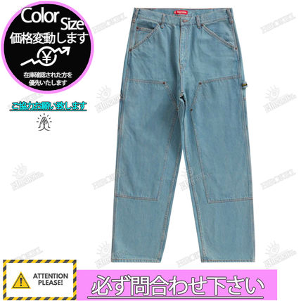 Supreme More Jeans Street Style Logo Jeans 3