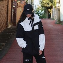 THE NORTH FACE WHITE LABEL Unisex Street Style Oversized Logo Jackets