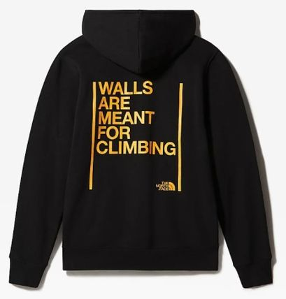 THE NORTH FACE Hoodies Unisex Street Style Plain Logo Outdoor Hoodies 5
