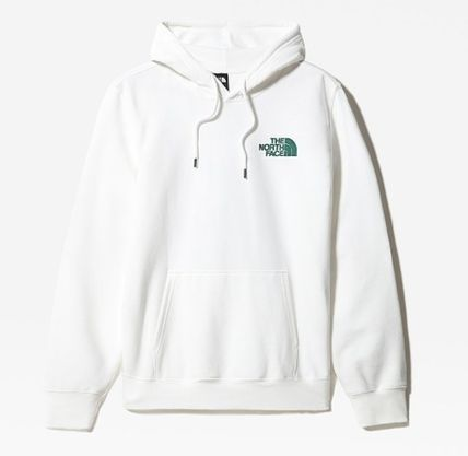 THE NORTH FACE Hoodies Unisex Street Style Plain Logo Outdoor Hoodies 7