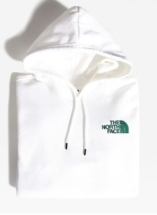 THE NORTH FACE Hoodies Unisex Street Style Plain Logo Outdoor Hoodies 10
