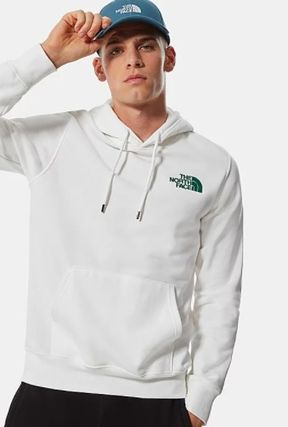 THE NORTH FACE Hoodies Unisex Street Style Plain Logo Outdoor Hoodies 12