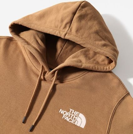 THE NORTH FACE Hoodies Unisex Street Style Plain Logo Outdoor Hoodies 17