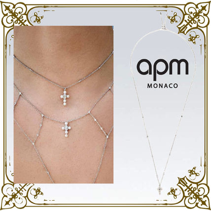 Costume Jewelry Casual Style Cross Handmade Party Style