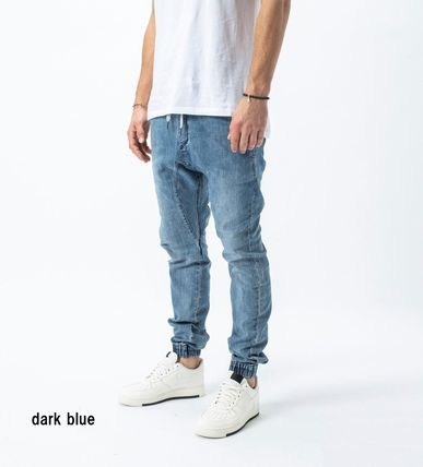 Ron Herman Denim Street Style Plain Cotton Joggers Jeans