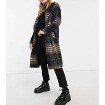 ASOS Tartan Casual Style Medium Chester Coats