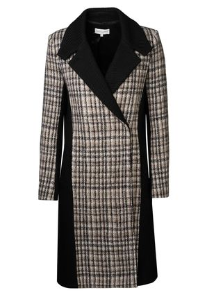 Stripes Street Style Party Style Coats
