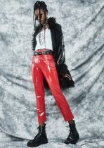 DOLLS KILL Casual Style Plain Long Cropped & Capris Pants