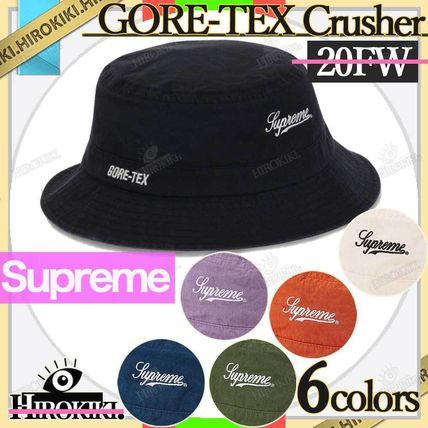Supreme Street Style Wide-brimmed Hats