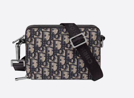 Christian Dior DIOR OBLIQUE Pouch With Shoulder Strap