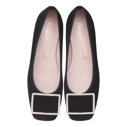 Plain Leather Bridal Ballet Shoes