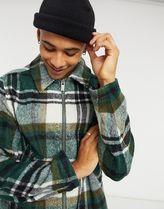 ASOS Tartan Other Plaid Patterns Wool Varsity Jackets