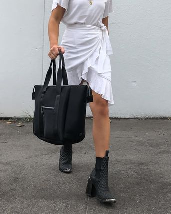 Casual Style 2WAY Plain Totes