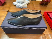 TOD'S Casual Style Suede Plain Leather Office Style Elegant Style
